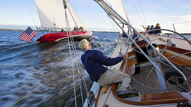 PHOTO:The yacht Weatherly