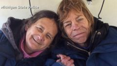 VIDEO: Sisters Airlifted to Safety After 2 Weeks Lost in Wilderness
