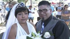 California bride fighting colon cancer walked down the aisle thanks to Relay for Lifes fundraising efforts.
