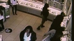 VIDEO: Authorities released surveillance footage of the female suspects at a California store.