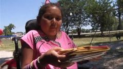 VIDEO: Ali Najera, 9, is hoping to receive birthday cards from around the world.