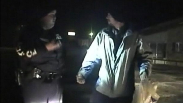 Dash cam video shows Colt Morgan, accused of killing his girlfriend, break free from police custody.