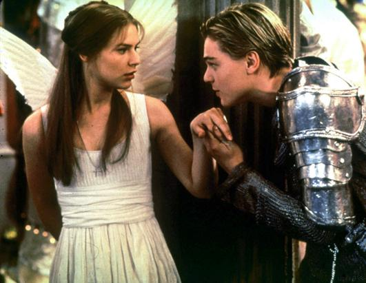 leonardo dicaprio romeo and juliet poster. leonardo dicaprio romeo and