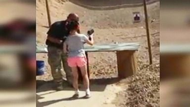 VIDEO: Investigators in Arizona say the girl lost control of the Uzi sub-machine gun and accidentally killed her instructor.