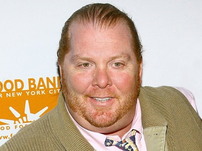 Celebrity chef Mario Batali  arrives for the Mario Batali Roast which kicks off the 3rd annual New York Comedy Festival at Capitale November 7, 2006 in New York City.