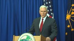 VIDEO: Gov. Mike Pence, R-Indiana, denies the controversial law allows businesses to discriminate but is calling for legislation to clarify that point.