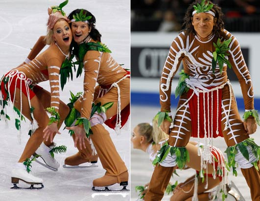Winter Olympics Fashion, With a Twist!
