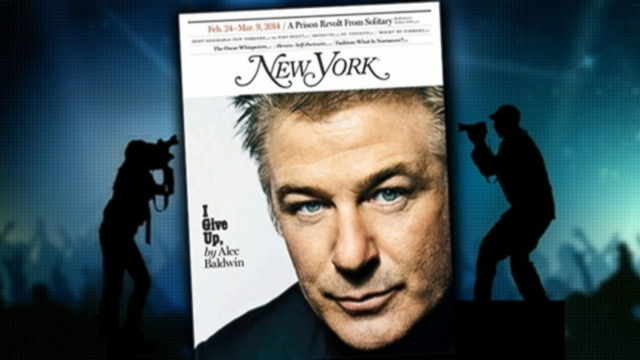 VIDEO: Alec Baldwin wrote that he can't live in NYC anymore in an essay printed in New York magazine.