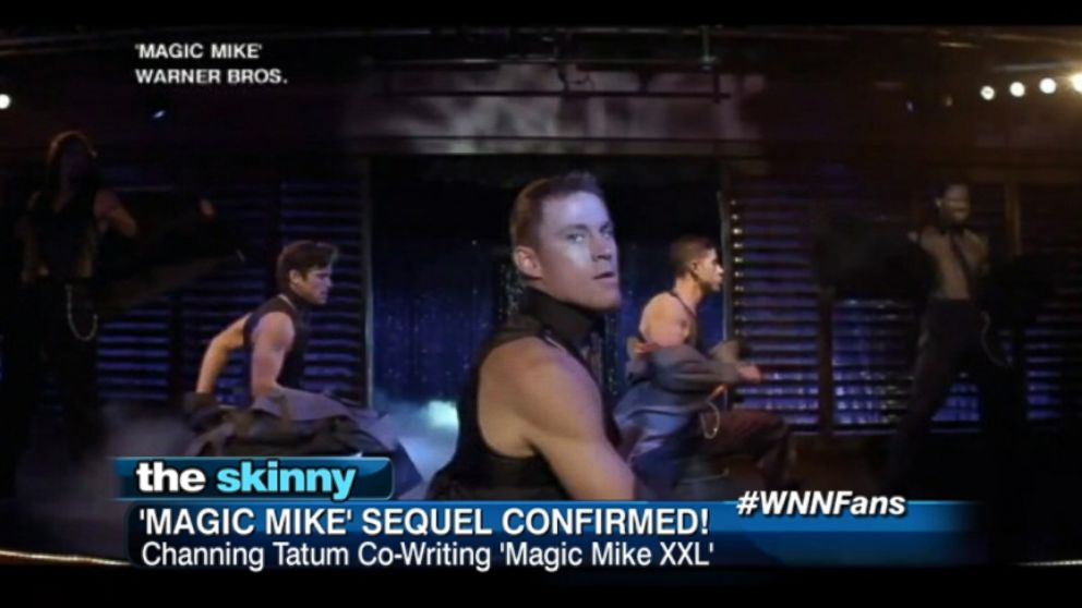 "VIDEO: Channing Tatum is co-writing ""Magic Mike XXL"" and is also expected to reprise his role."