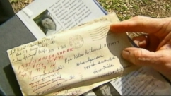 VIDEO: A Florida woman finds an unsealed, WW2-era letter at a Goodwill store.