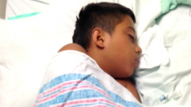 VIDEO: Zachary Reyna was diagnosed with primary amoebic meningoencephalitis caused by a deadly parasite.