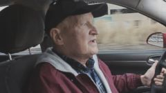 VIDEO: Ken Borskey, 69, started driving for the ride-sharing company to raise funds for his family before he dies. Roland Gainer, 22, is raising funds to support the Michigan man after riding as a passenger in his car.