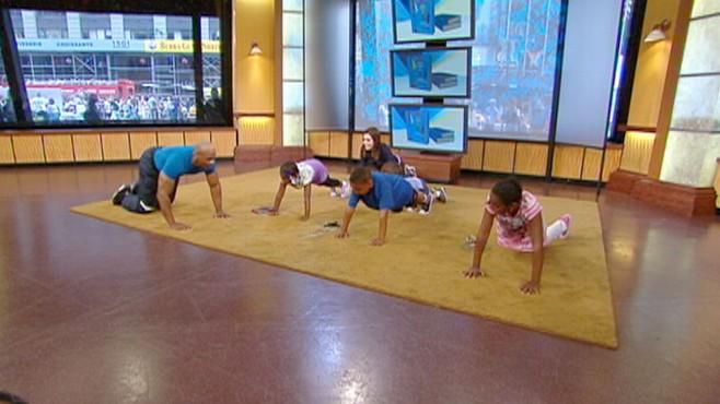 VIDEO: How to keep your kids in shape while schools out.