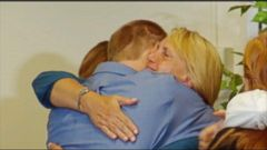 VIDEO: US Doctor Who Contracted Ebola Leaves Hospital With Hugs