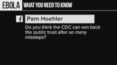 VIDEO: Can the CDC Win Back Public Trust?