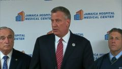VIDEO: NYC Mayor de Blasio Remarks on Possible Ebola Patient