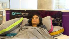 VIDEO: Having trouble sleeping? ABCs Tech Contributor Tina Trinh tries out the newest technology that could help you get a better nights sleep.