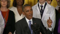 VIDEO: President Obama Praises Health Care Workers in Fight Against Ebola