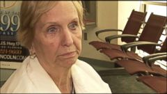 VIDEO: Mary Walker said she needed the oxygen as a precaution for her heart condition.