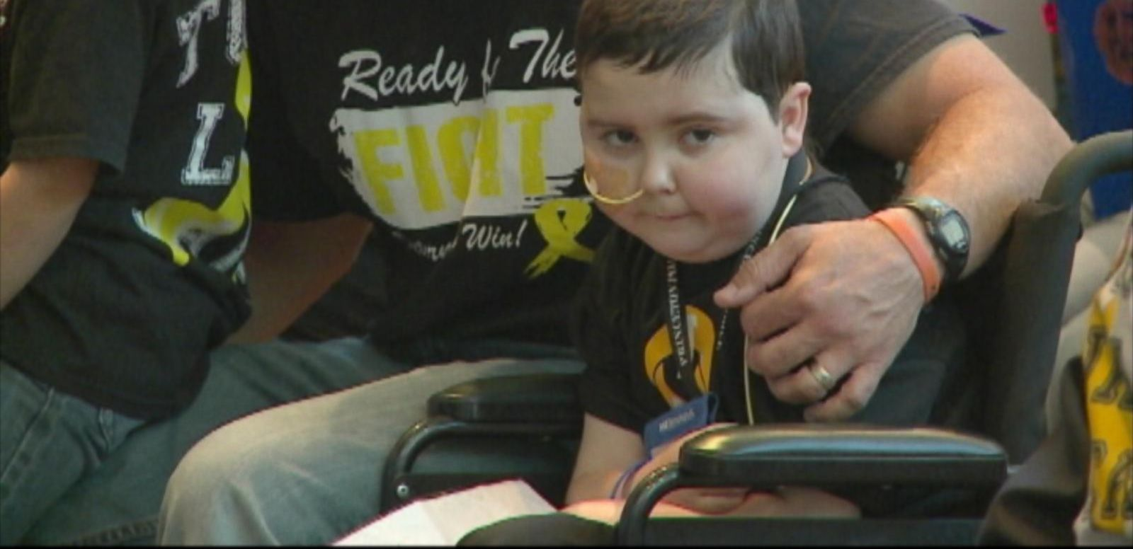 VIDEO: Dallas Police Department Swears in Cancer-Stricken Boy