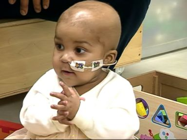 Watch:  1-Year-Old Girls Cancer in Remission After Designer Cells Treatment