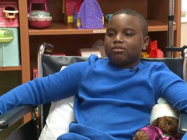 Watch:  Texas Boy Paralyzed From Stress, Family Says
