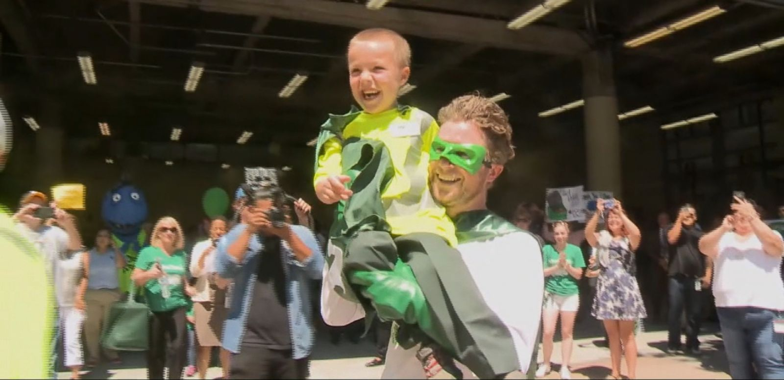 VIDEO: The Make-A-Wish Foundation made Ethan Dean's wish come true.