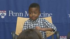 A 9-year-old boy who has inspired millions of people has a new goal.