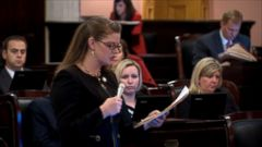 An Ohio bill that would clear the way for what would be one of the nations most stringent abortion restrictions is on its way to the governor.