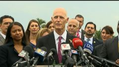 VIDEO: Gov. Rick Scott said there are no more local transmissions of the disease in the area.