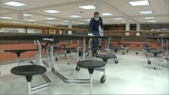 VIDEO: 800 students and 50 staffers missed class on Monday at St. Charles East High School.