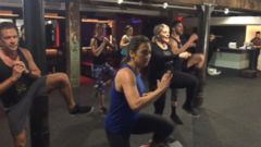 VIDEO: Tone in 20: DIY Workout With Fitness Expert Kristi Molinaro and Ginger Zee