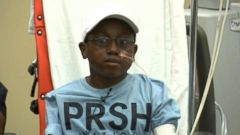 Jaheim Whighams artificial heart will keep him alive until he receives a real heart.