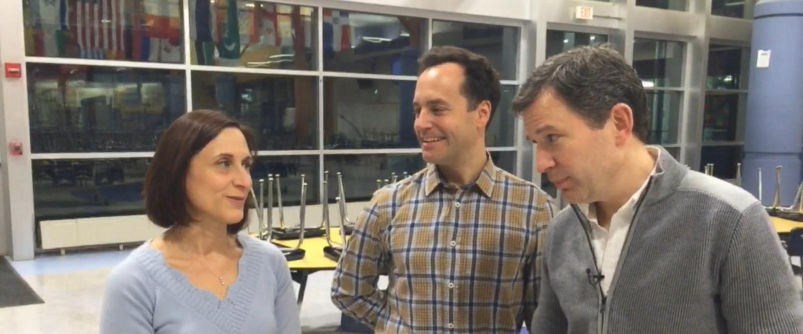 VIDEO: 10% Happier: Dan Harris Visits His Old High School