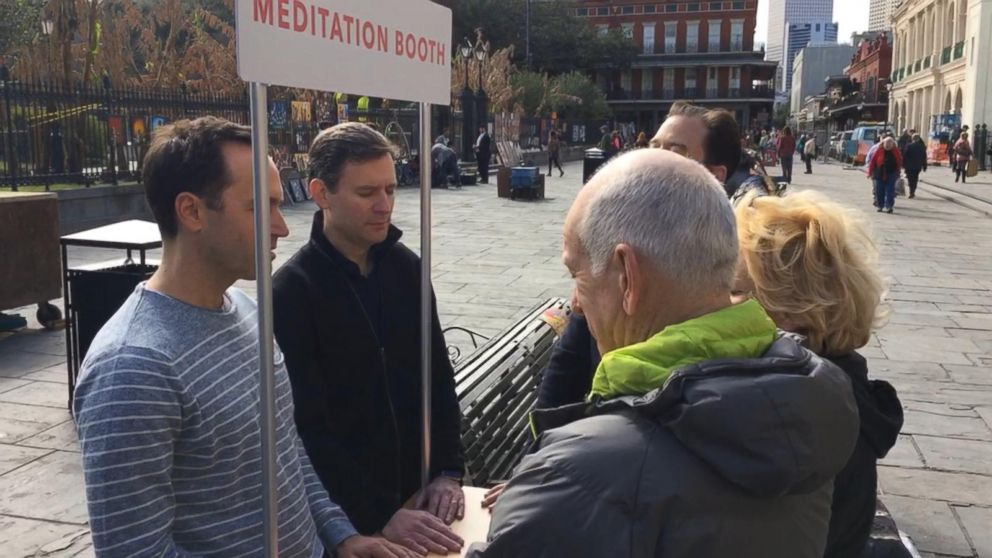 VIDEO: 10% Happier Road Trip: Teaching Tourists How to Meditate in New Orleans