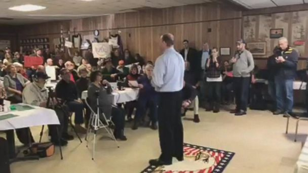 VIDEO: Congressman hit with questions, boos over GOP plan to repeal Affordable Care Act