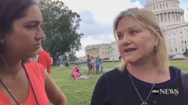 VIDEO: Planned Parenthood protest against Senate health care bill