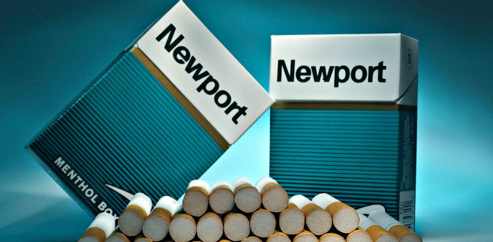 PHOTO: Newport cigarettes, made by Lorillard, are displayed for a photograph in New York, in this Dec. 17, 2007 photo.