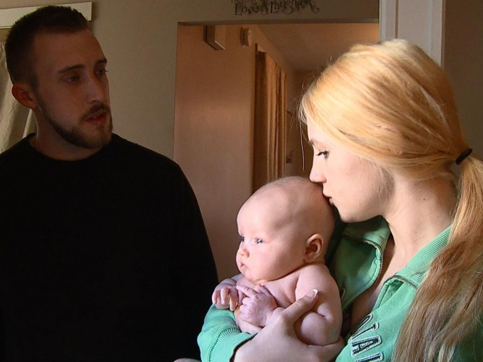 PHOTO: Every day, Savannah and her babys father, Matt, struggle to come up with the $17 it costs for her daily prescription of medication.