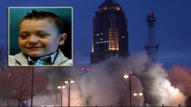 ABC ann implosion tk 140318 16x9 608 Boy Slams Cancer, Implodes Building