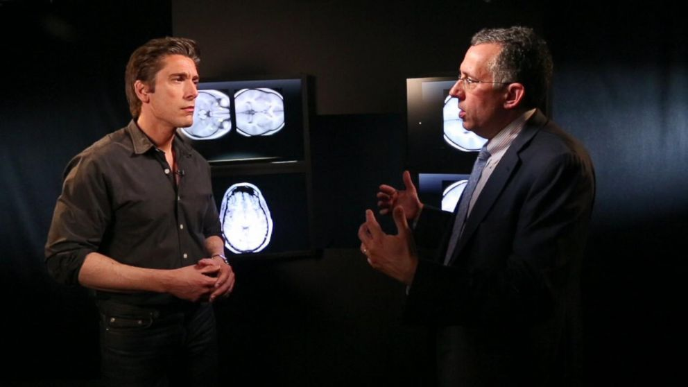 PHOTO: Dr. David Rosenberg of Wayne State University and the Detroit Medical Centers Childrens Hospital of Michigan talks to ABCs David Muir about his new findings regarding obsessive compulsive disorder.