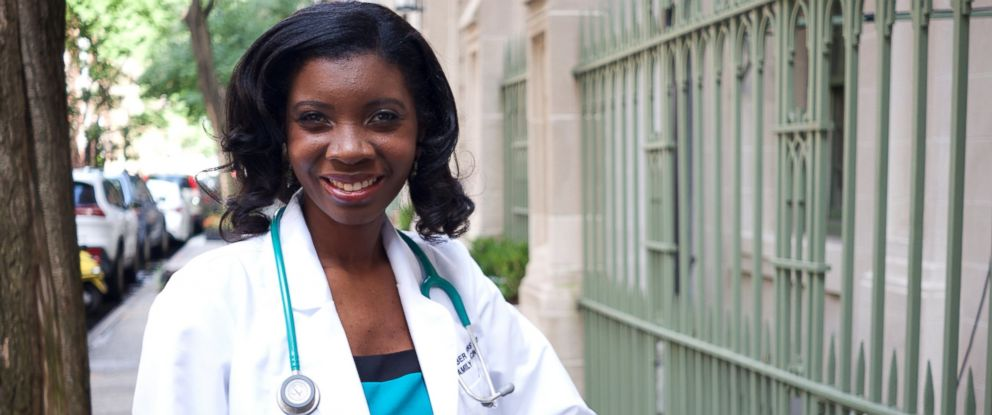 PHOTO: Dr. Amber Robins talks about being an underrepresented minority in medicine.