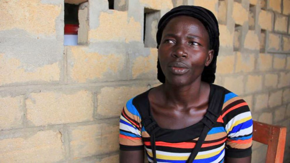 PHOTO: Tewa Tamba, a mother of three in Liberia, says she believed in her mind that she would survive her bout with the ebola virus.