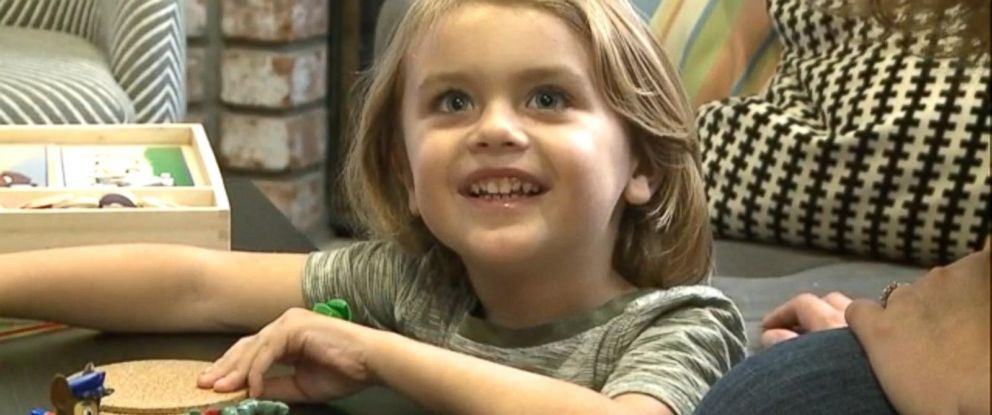 PHOTO: Uriah Krueger was diagnosed with measles even though he received one dose of the MMR vaccine. Uriah was too young to receive the second dose that would have given him 99 percent immunity from the disease.