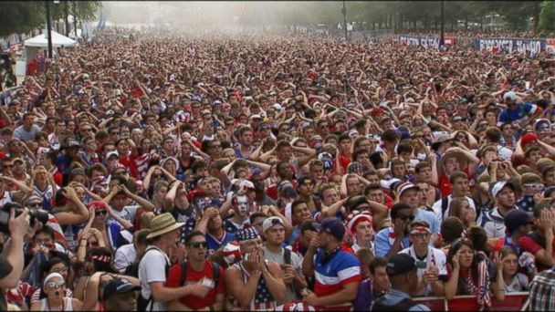 ABC world cup fans kab 140623 16x9 608 Why Did U.S. Soccer Fans Grab Their Heads at the Tying Goal?