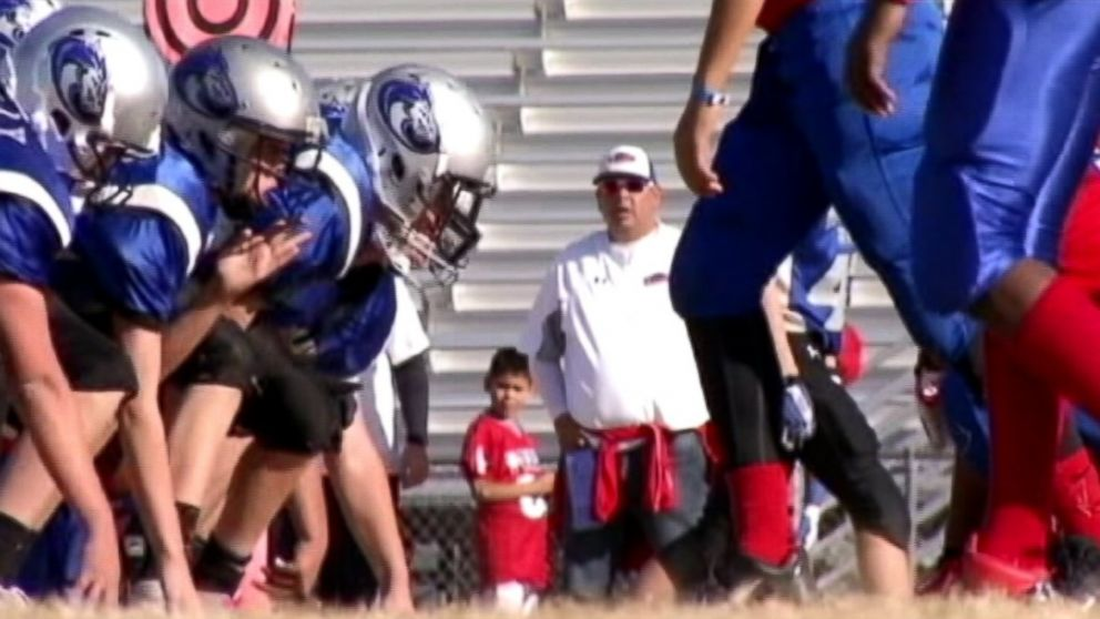 PHOTO: Youth football teams became mysterious ill during Las Vegas championship.