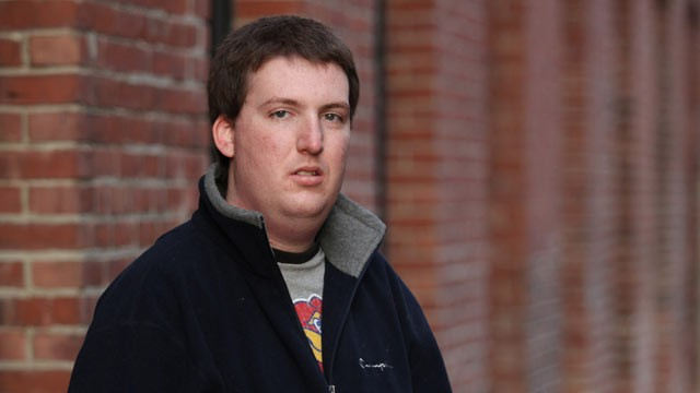 PHOTO: Zach Tomaselli, 23, poses Nov. 28, 2011 in Lewiston, Maine. Tomaselli is the third man to accuse Syracuse Associate head coach Bernie Fine of sexual abuse.