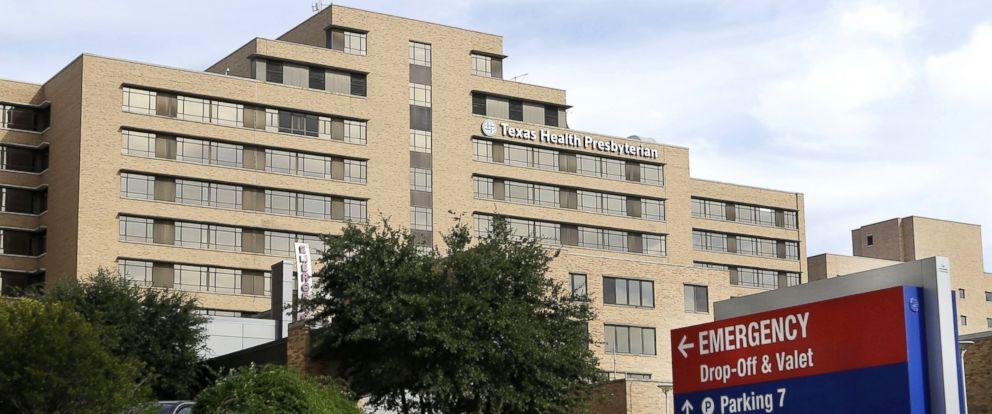 PHOTO: The entrance of Texas Health Presbyterian Hospital in Dallas, Oct. 8, 2014.