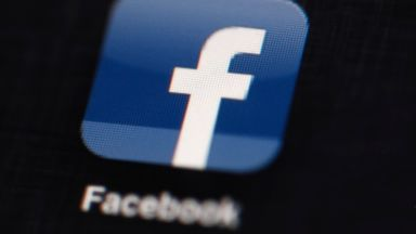 PHOTO: The Facebook logo displayed on an iPad in Philadelphia, May 16, 2012.