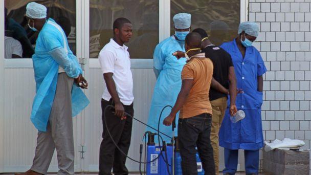 AP guinea ebola tk 140331 tk 140331 16x9 608 Ebola Outbreak in Guinea Spreads to Liberia, Sierra Leone